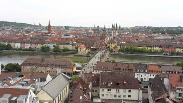Ausblick Wuerzburg