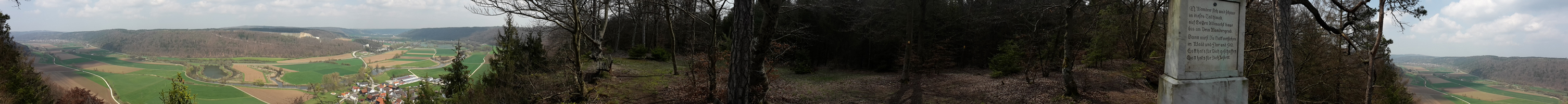 Ausblick-Kinding-Unteremmendorf-Wanderweg