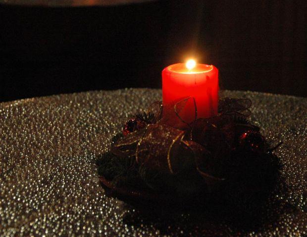 Weihnachten Kerze