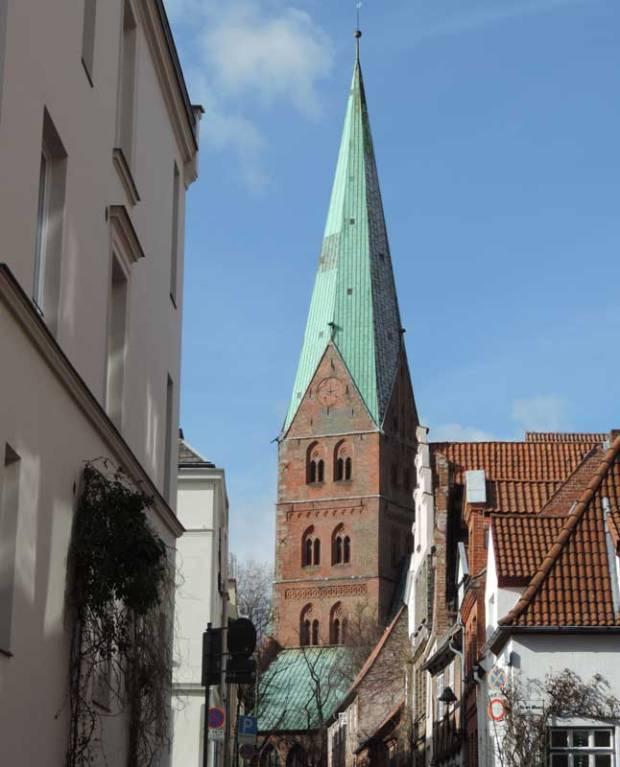 Lübeck - Kirchturm