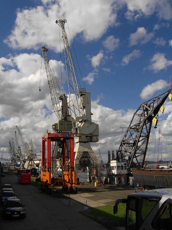 Hamburg Hafen Kran
