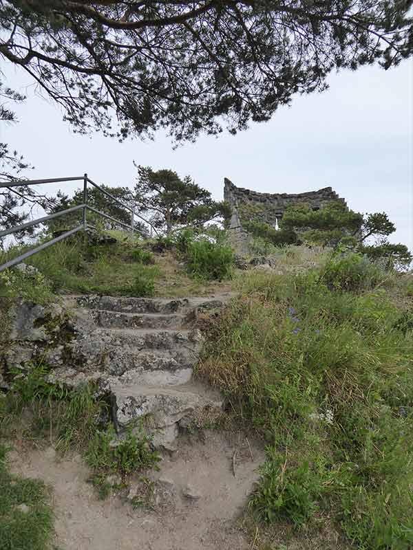 Schloss-Arnsberg-Ruine