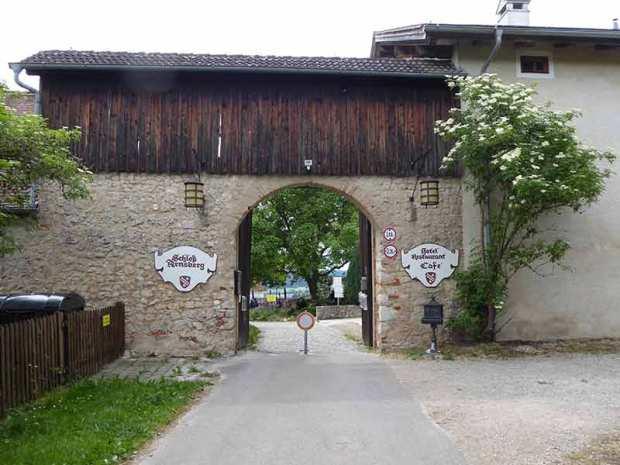 Eingang Schloss Arnsberg Tor