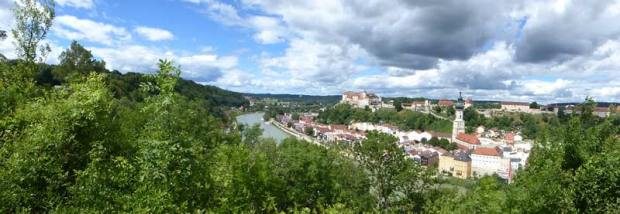 Panorama-Burghausen