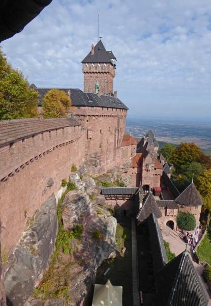 Haut Koenigsbourg Elsass Wahrzeichen