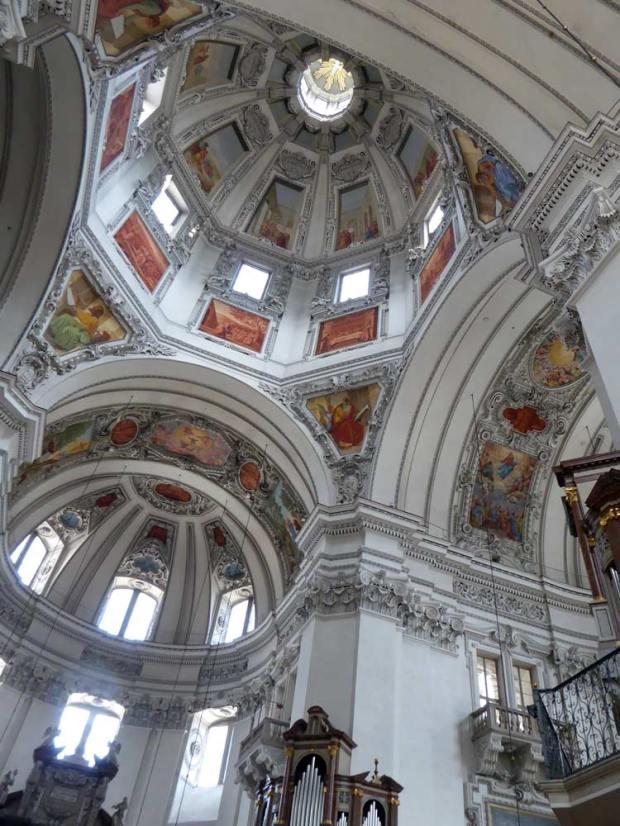 Salzburg Dom Kuppel