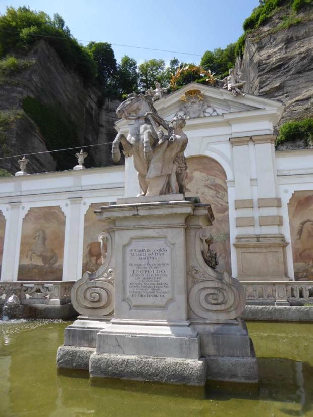 Salzburg Pferdeschwemme
