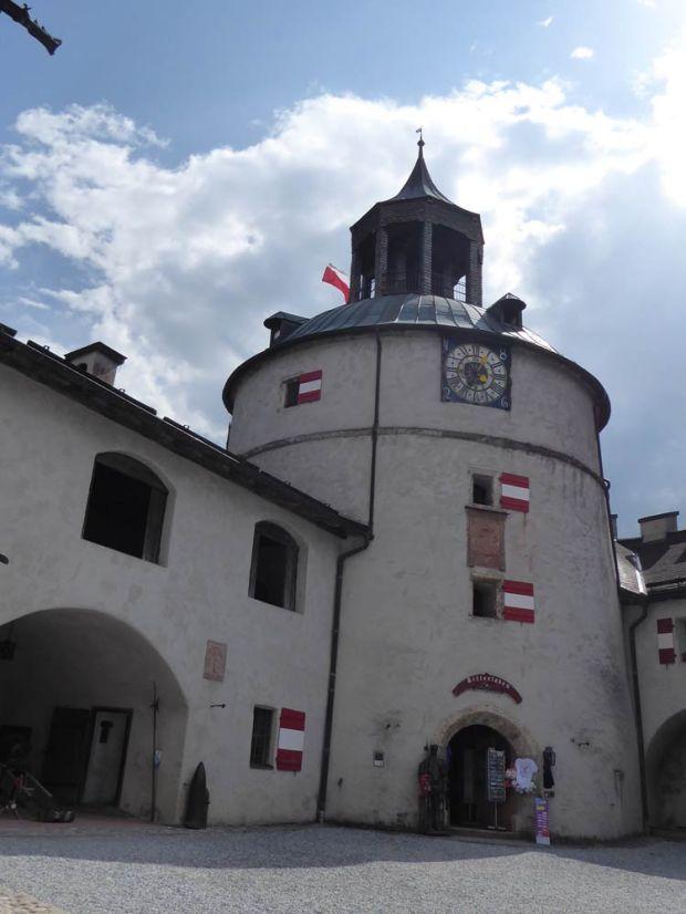Werfen Festung Glockenturm