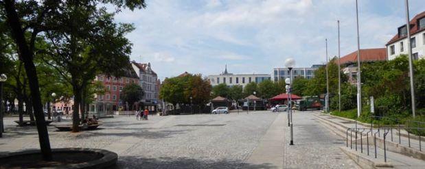 Ingolstadt Theaterplatz