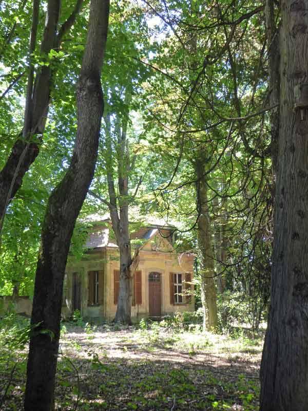 Wasserschloss Syburg Parkanlage