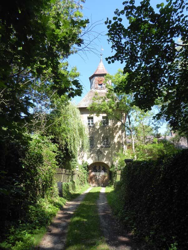 Wasserschloss Syburg Torturm