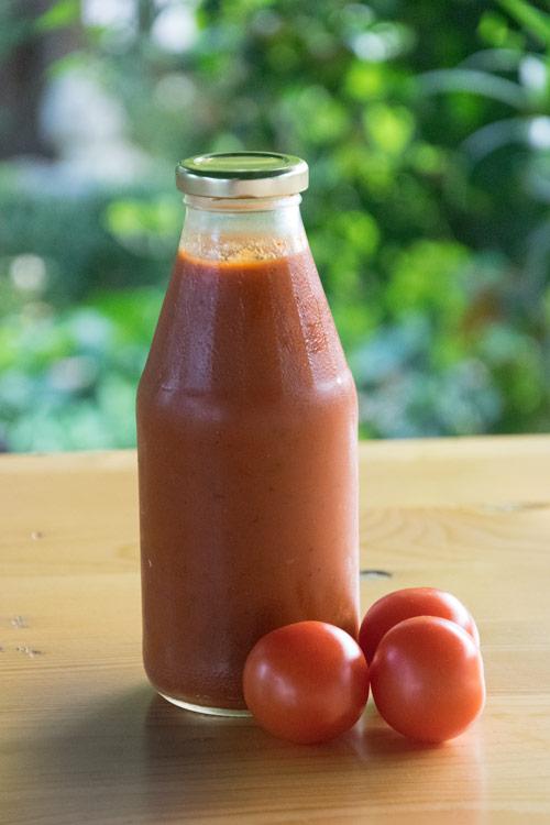 Tomatenketchup einfach selber machen - Anleitung und Rezept