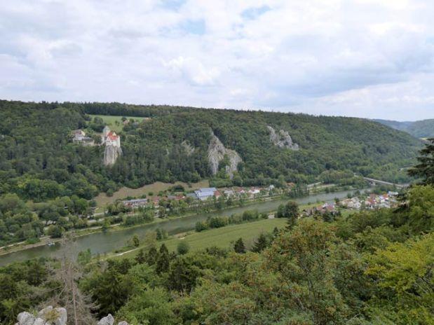 Wanderweg Burg Prunn