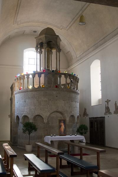 Kapuzinerkirche Eichstätt Nachbildung Grabmal Jerusalem
