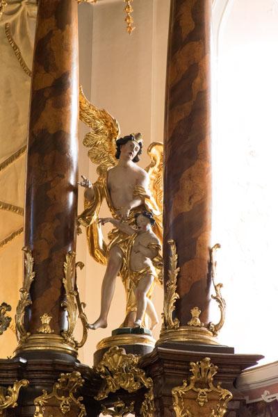 Schutzengel Kirche Eichstätt Jesuitenkirche